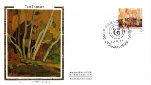 Canada, Worldwide First Day Cover, Art