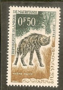 Mauritania   Scott 134  Hyena   CTO