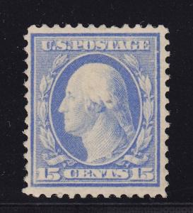 382 F-VF+ original gum never hinged with nice color cv $ 525 ! see pic !