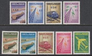 Paraguay 577-581,C278-C281 MNH VF