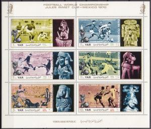 1970Yemen (Arab R. YAR )1160-1165KL1970 World championship on football of Mex