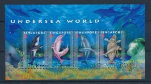 [28208] Singapore 2006 Marine Life Undersea world Dolphins MNH Sheet