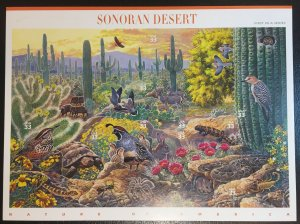 US #3293, 33c Sonoran Desert, Nature of America, 1st in a series, MNH Full Sheet