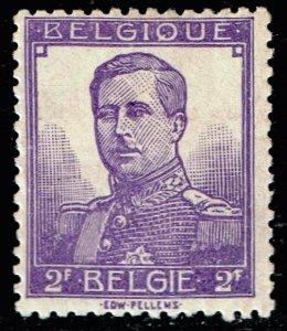 Belgium Stamp  1912 King Albert 2F. PURPLE MH/OG
