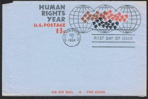 United States FDC Scott UC42