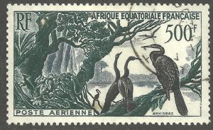 FRENCH EQUATORIAL AFRICA SCOTT C37