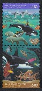 1992 UN Geneva 213-14Paar Sea fauna 3,00 €