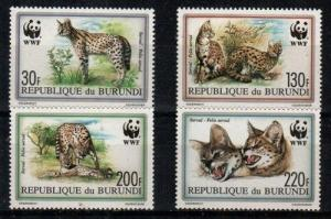 Burundi Scott 681-4 Mint NH (Catalog Value $22.75)