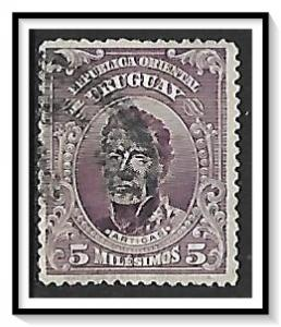 Uruguay #187 Artigas Used