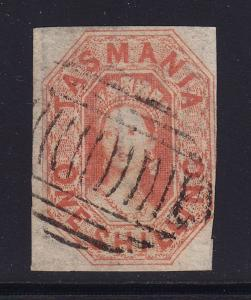 Tasmania SG # 41 F-VF used neat cancel with nice color ! see pic !