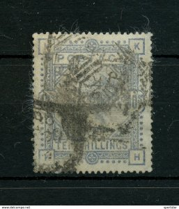 Great Britain - 1883 QV 10sh ultra, Wmk. Anchor # SG 183 - Cat $500 AS IS