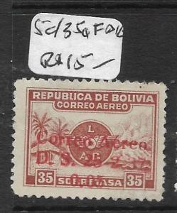 BOLIVIA (P1603B) A/M  5C/35C    MOG