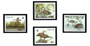 Bahamas 645-48 MNH 1988 Ducks