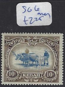 MALAYA KEDAH  (P0707B)  COW 10C  SG 6   MOG