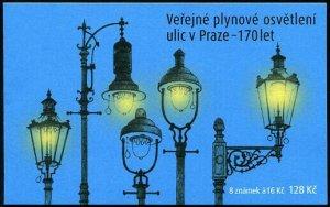 HERRICKSTAMP NEW ISSUES CZECH REPUBLIC Sc.# 3715a Gas Street Lighting Booklet