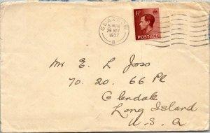Glasgow UK > Joss Glendale Long Island NY 1937 cover