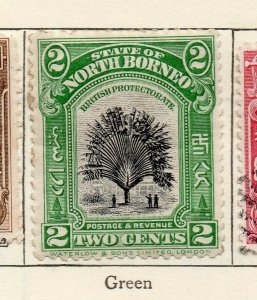 North Borneo 1909 Early Issue Fine Mint Hinged 2c. NW-113836