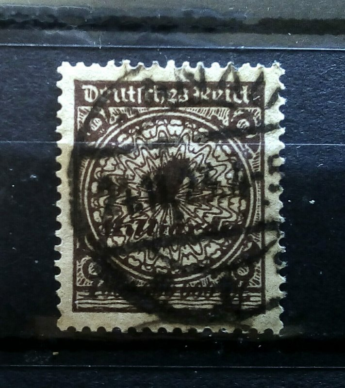 Germany DT Inflation Mi 325Wb used