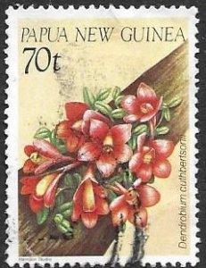 Papua New Guinea 654   1986  single used