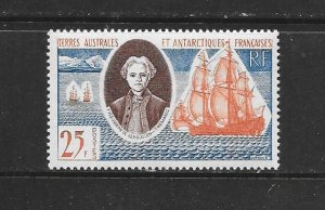 SHIPS - FRENCH SOUTHERN ANTARCTIC TERRITORY #20 MNH
