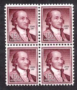 1046 Mint,OG,NH... Block of 4... SCV $2.40