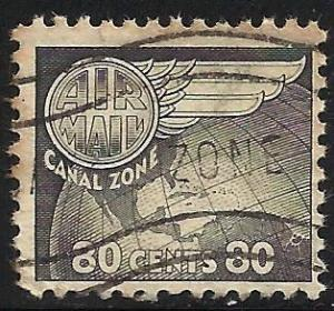 Canal Zone Air Mail 1951 Scott# C26 Used