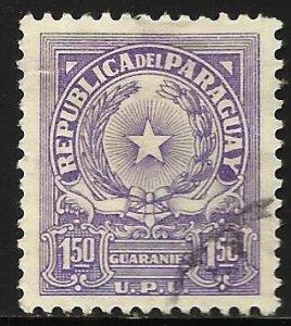 Paraguay 1963 Scott# 648 Used