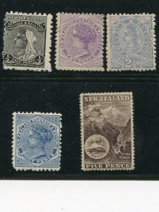 New Zealand Lot  Mint  - Lakeshore Philatelics