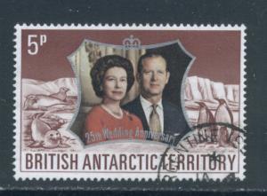 British Antarctic Territory 43  Used