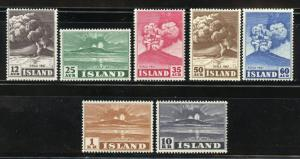 ICELAND VOLCANOES SCOTT#246/52 NEVER HINGED  SCOTT $99.00