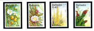 Barbados 834-37 MNH 1993 Flowers