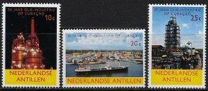 Netherland Antilles MNH 292-4 Oil Industry 1965