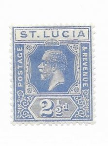 St. Lucia #81 MH - Stamp - CAT VALUE $7.50