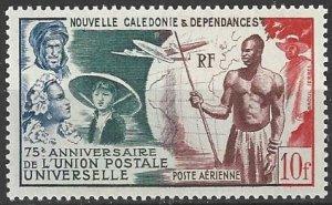 New Caledonia C24  UPU 75th Anniversary