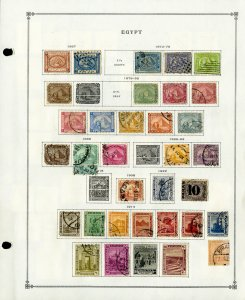 Egypt Loaded Mint & Used 1800s to 1980s Clean Vintage Stamp Collection