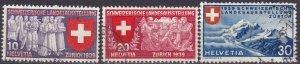 Switzerland #250-2 F-VF Used CV $3.50  (Z4592)