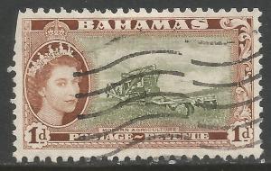 BAHAMAS 159 USED E822