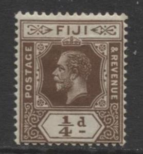 Fiji - Scott 79 - KGV - Definitive - 1912 - Mint - Single 1/4p Stamp