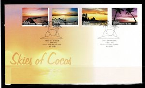 Cocos Island Skies of Cocos FDC