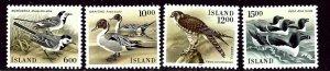 Iceland 618-21 MNH 1986 Birds    (ap4008)