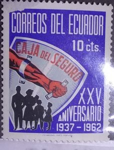 Ecuador Scott Cat #694*nh (1963)