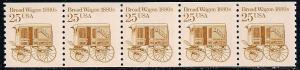 US 2136 MNH - PNC 5 - Plate 3 - Transportation Series - Bread Wagon