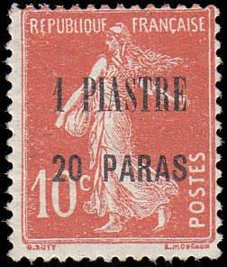 French Levant Scott 42 Sower - MH