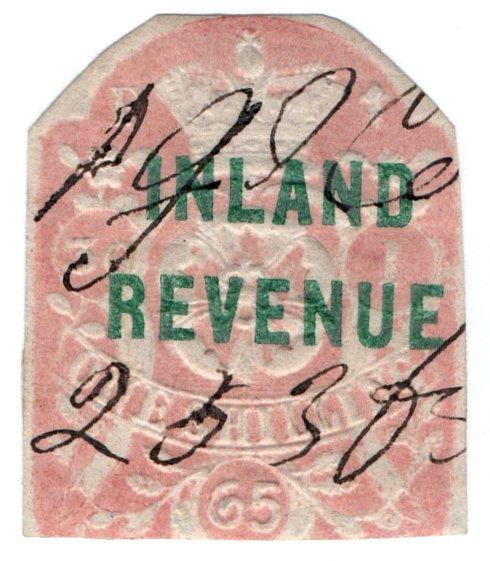 (I.B) QV Revenue : Inland Revenue 1/- (SG F35)