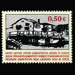 UN-KOSOVO 2004 - Scott# 27 House Set of 1 NH