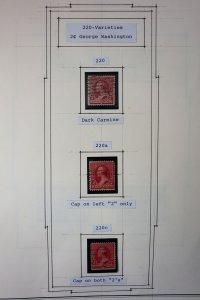 US Fabulous Stamp Error Album
