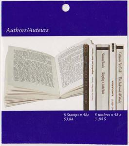 Canada - 2003 48c Authors Complete Booklet #BK274a