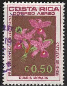 Costa Rica Scott C448 used Airmail stamp