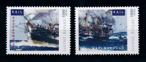 [78674] Guinea Bissau 2012 Sail Clipper Ships Marleborough  MNH