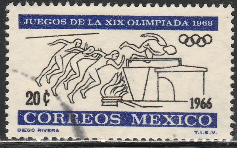 MEXICO 974, 20c 2nd Pre-Olympic Issue. Used. (337)